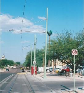 Strandberg trip 7-2014 Tucson trolley 4 end of the line