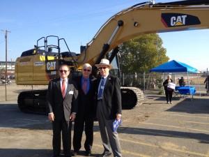 Mark Ehrhardt (Burbank Transportation Commissioner), Rod Diridon and Paul Dyson