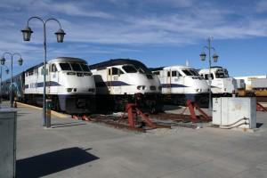 San Bernardino CA Metrolink  power Freericks