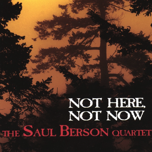 Saul Berson Quartet - Not Here Not Now Album Artwork