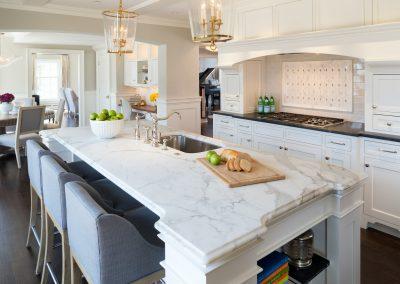 Interior kitchen remodel by JK & Sons.