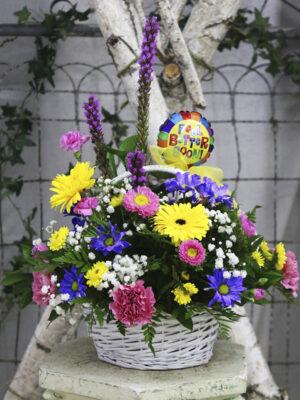 Birthday / Get Well Basket