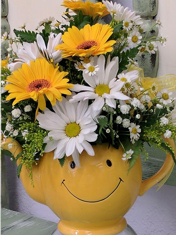 Happy Day Tea Pot
