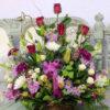 Large Mixed Flower Basket