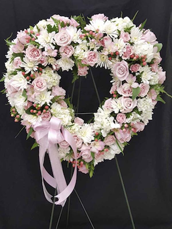 Memorial Pink Heart