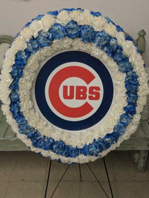 Specialty Memorial Wreath (Cubs)