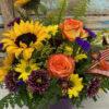 Sunflower Rose Kisses