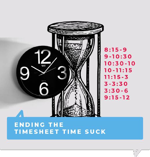 Ending the timesheet suck