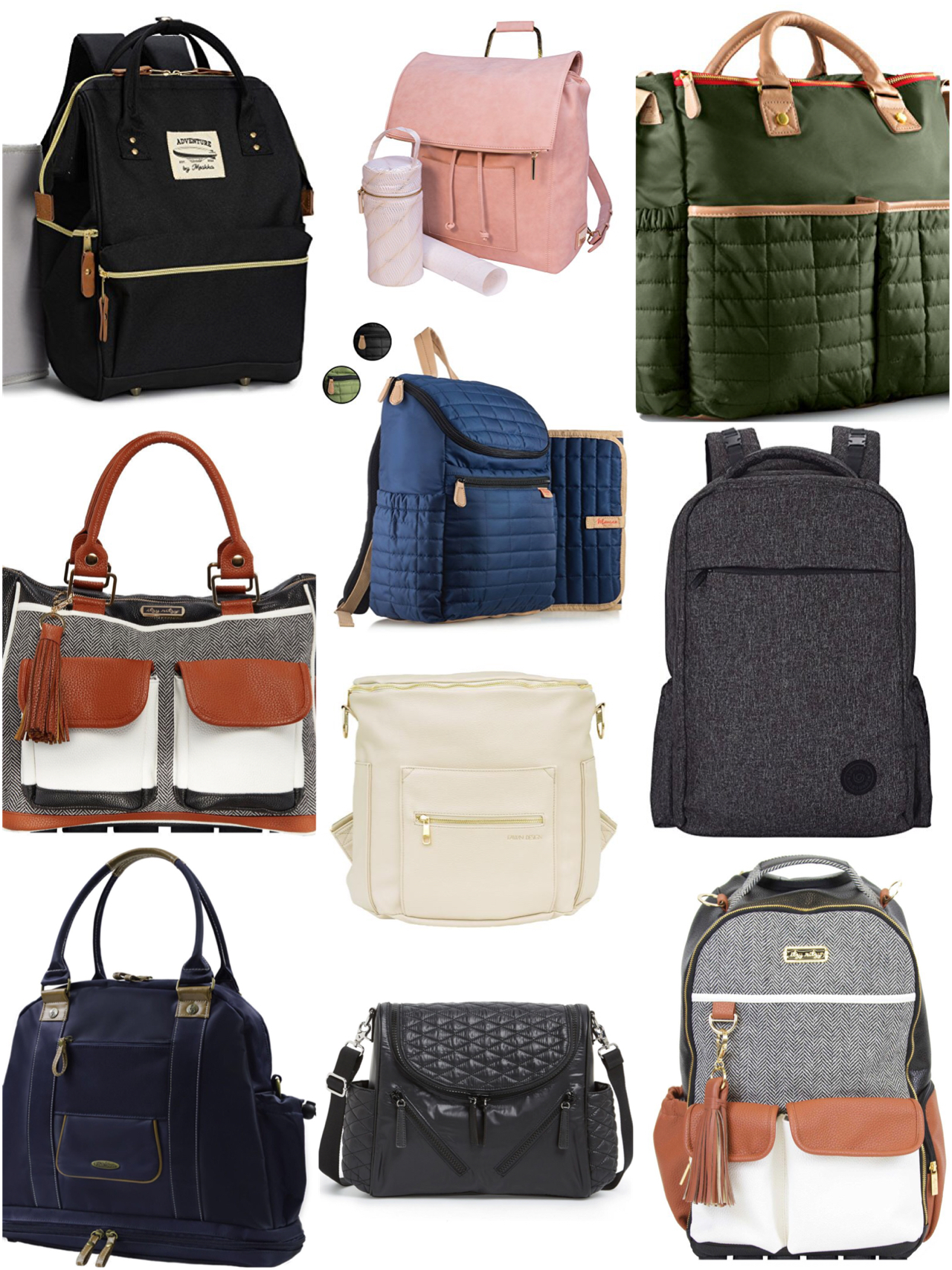 My Favorite Diaper Bags…