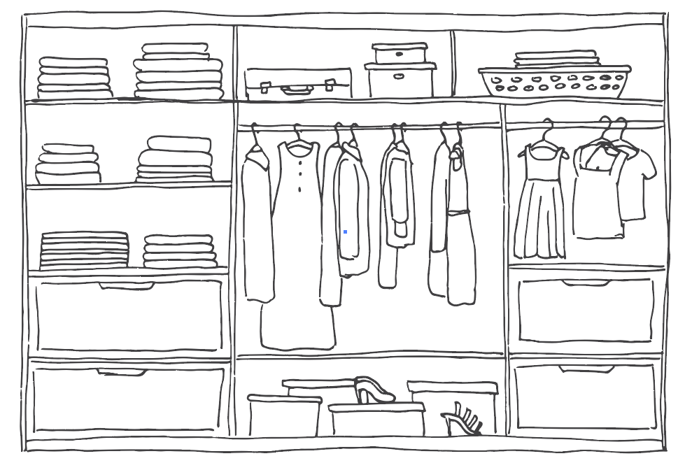 New Look, New Me … The Closet