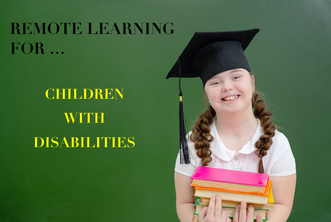 TEACHING TOOLS | Remote Learning For Children With Disabilities