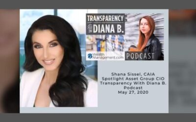 "Shana Sissel discusses working from home during the pandemic on the ""Transparency w/ Diana Britton"" podcast."