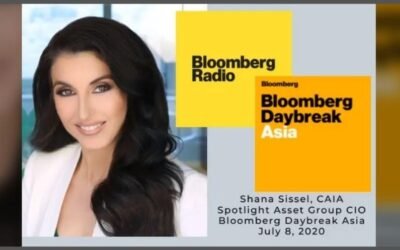 CIO Shana Sissel discusses market reaction to Q2 earnings on Bloomberg LP Radio