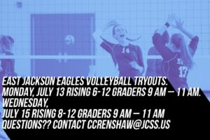 2020-21 vollyball tryout info