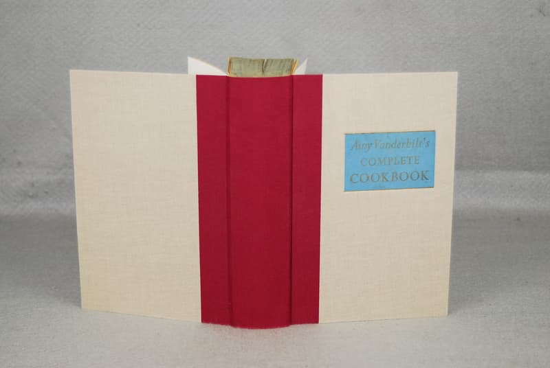 Booksmith Conservation cloth binding book repair Austin