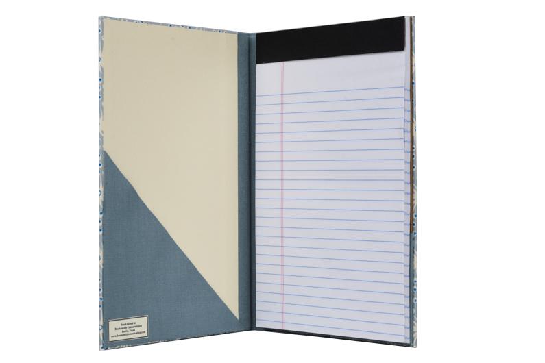 Booksmith Conservation Repair Light Blue Notebook Holder Gift