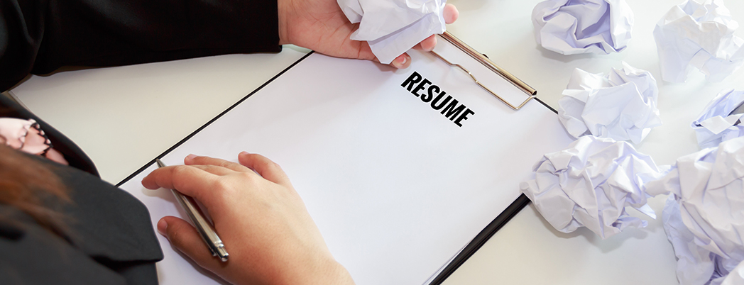 What should I not put on my resume?