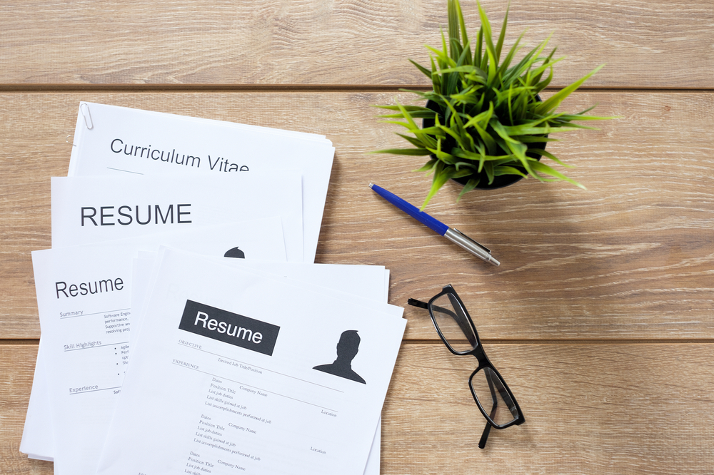 It's okay to have just one résumé right?