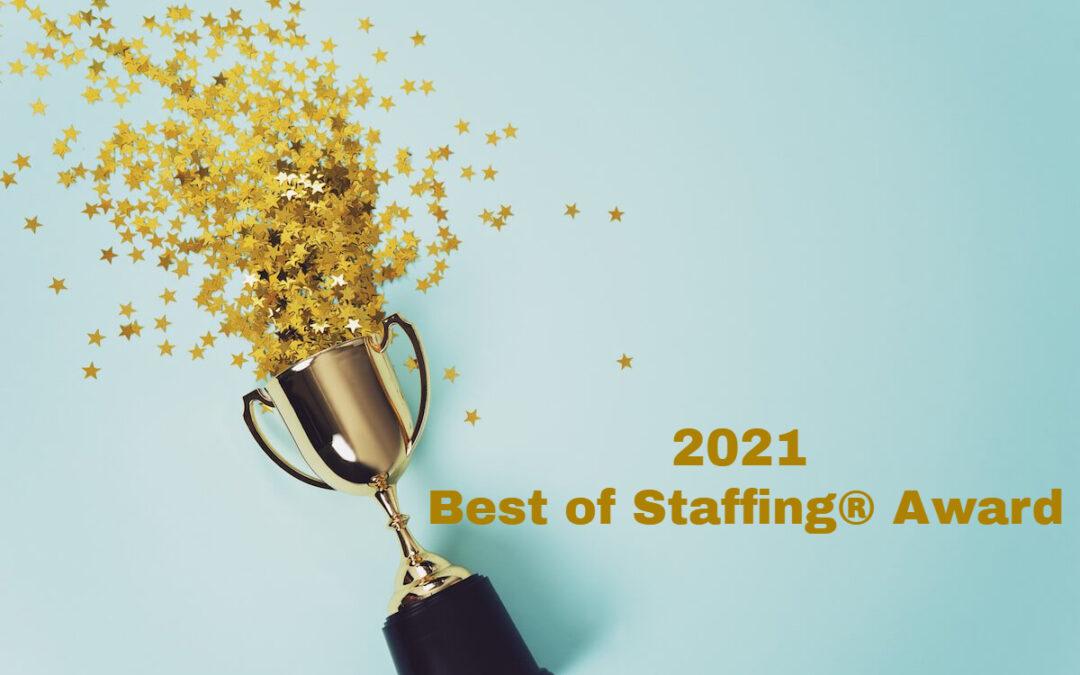 VITESSE | 2021 Best of Staffing Talent Award