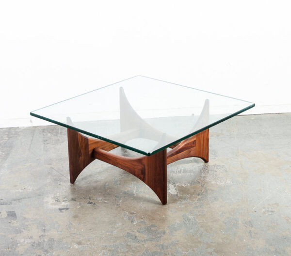 Mid Century Modern Coffee Table Adrian Pearsall Cocktail Square