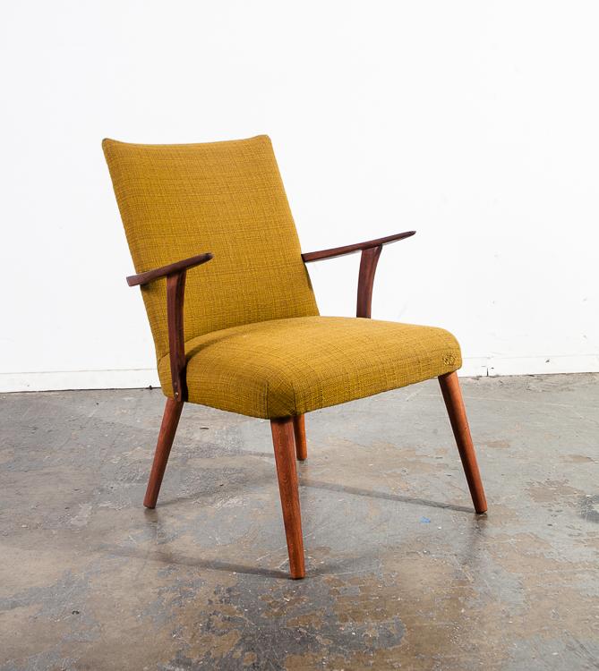 Mid Century Danish Modern Armchair Chair Teak Scandanavian