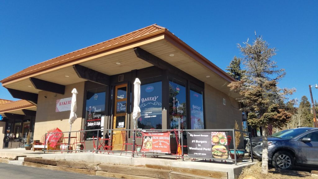 My Sweet Escape Bakery and Cafe in Woodland Park, Colorado