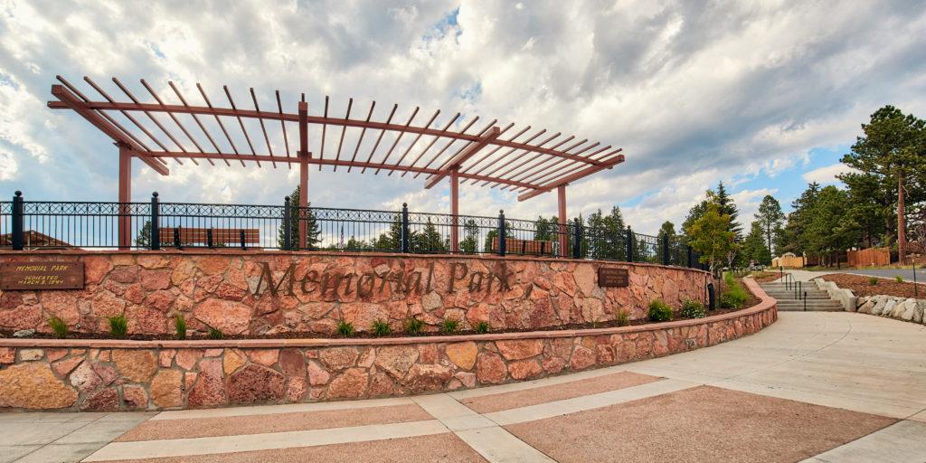 Memorial Park is a half-block away!