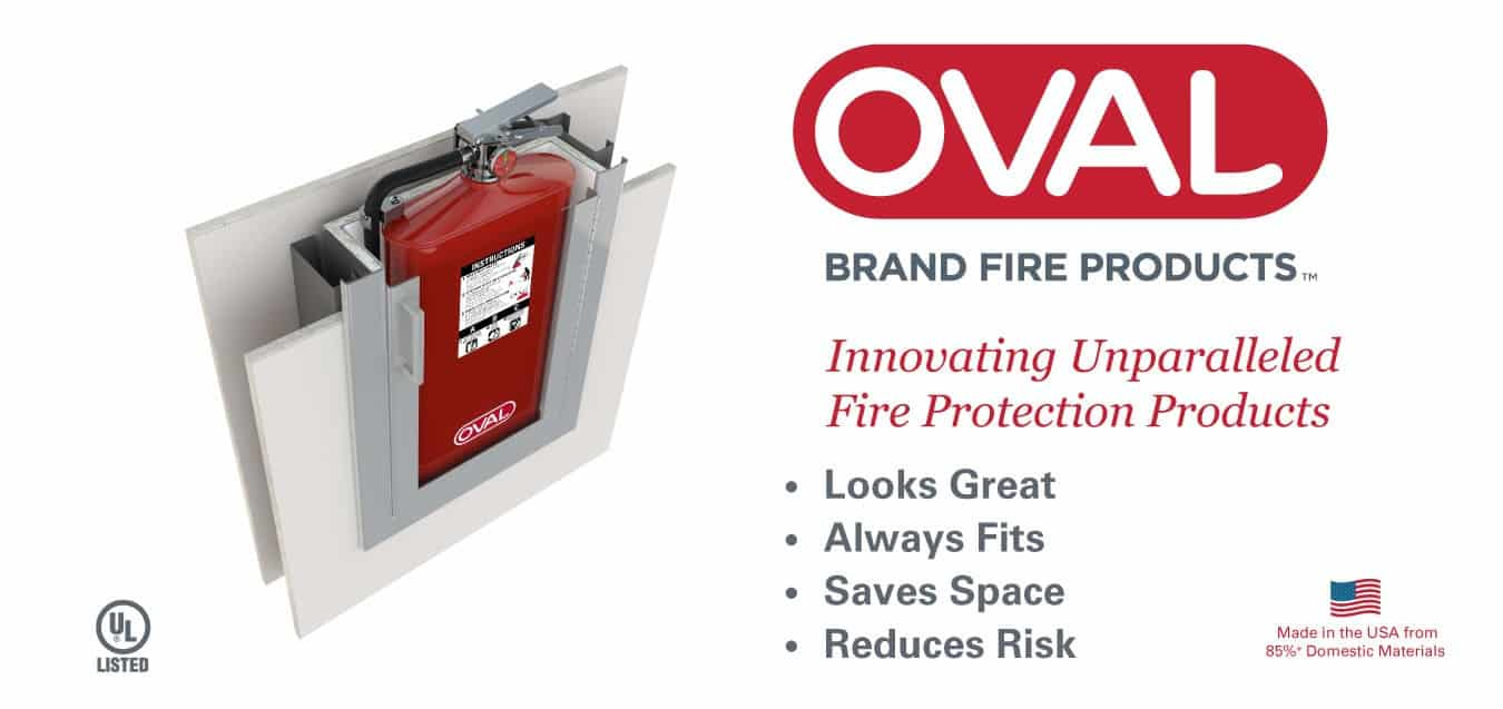 oval brand fire extinguishers