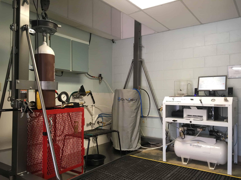 Jay L Harman DOT Hydro Testing Facility