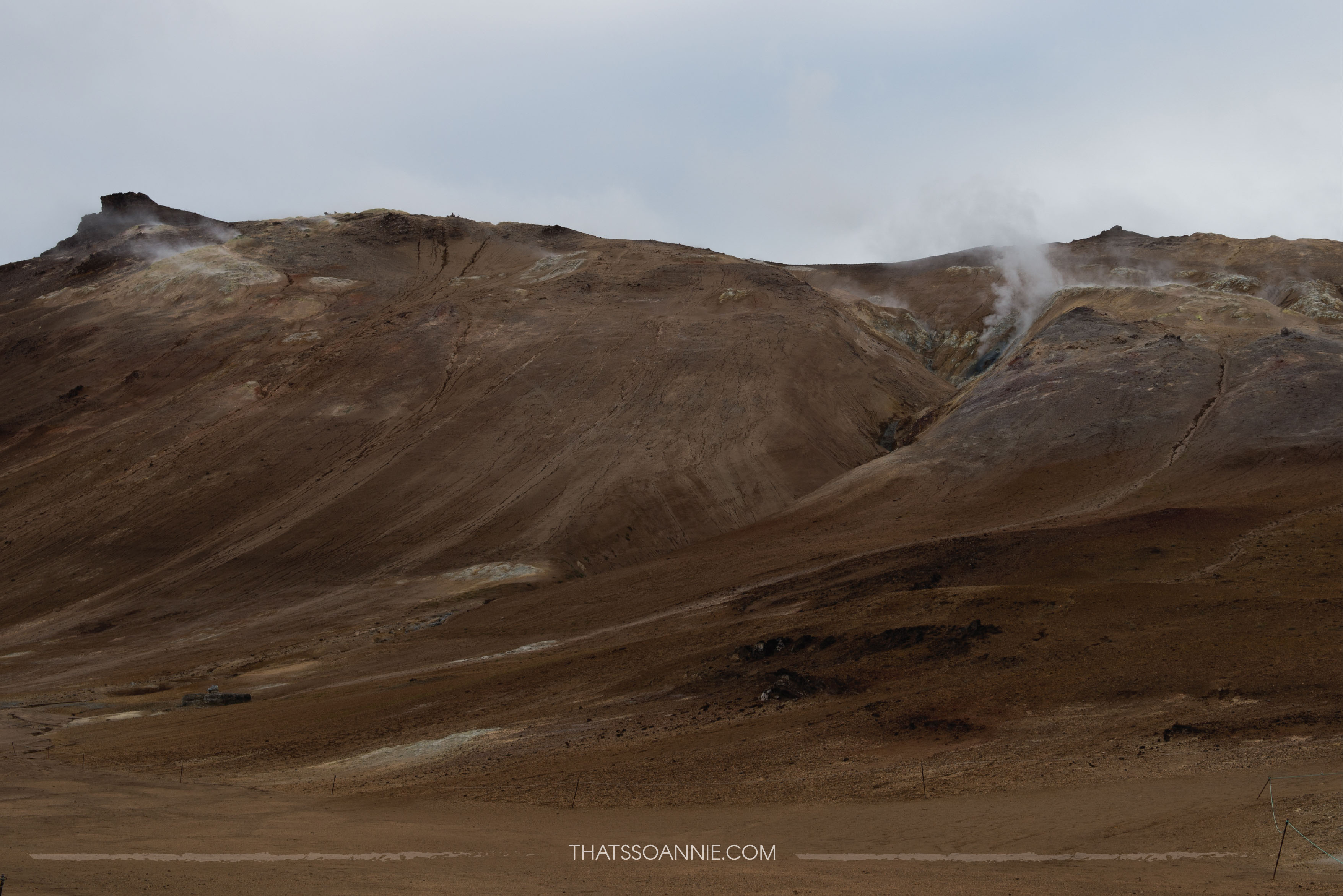 Nothing grows or lives at Námafjall