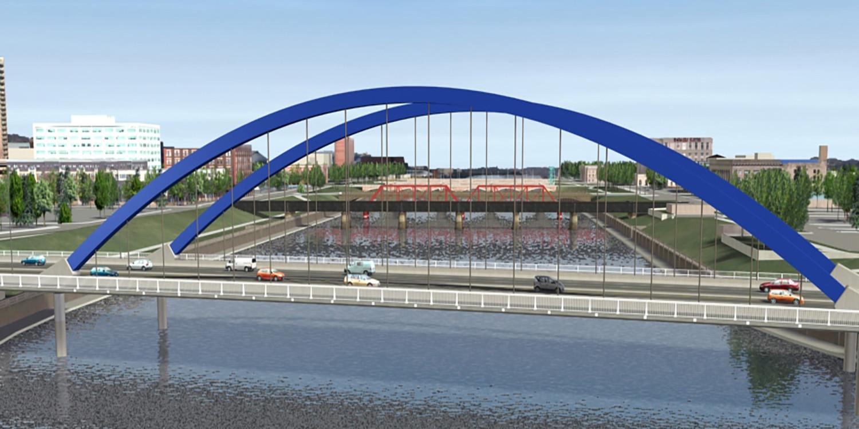 Southeast Connector Arch Bridge | Ciorba Group