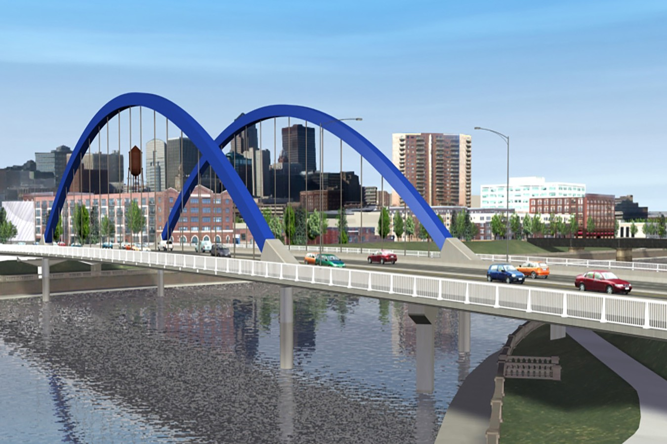 Southeast Connector Arch Bridge | Ciorba Group