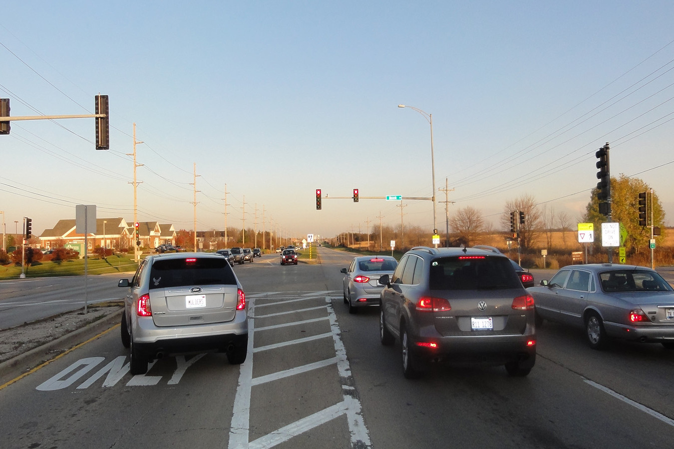 75th Street at Book Road Traffic Signal Modifications & Pedestrian Signal Updates | Ciorba Group
