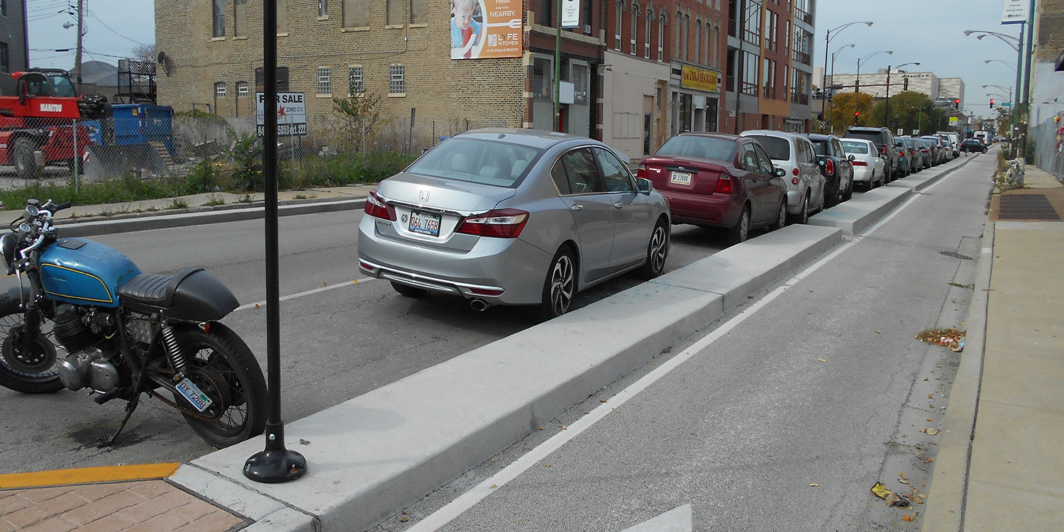 Clybourn Avenue and Division Street Bicycle Safety Improvements | Ciorba Group
