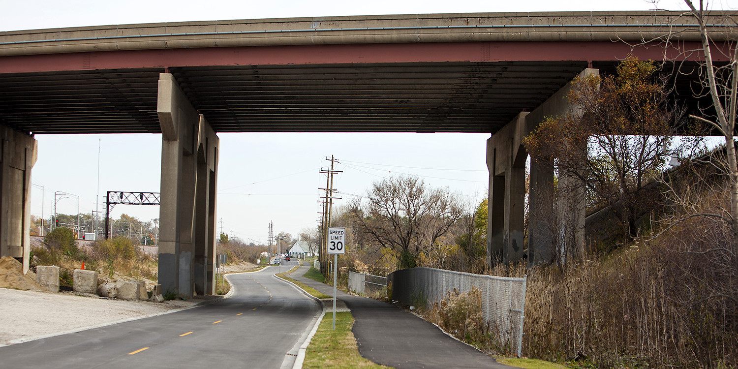 Commuter Drive Reconstruction and Bicycle Path Extension | Ciorba Group