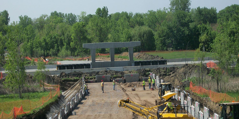 John Deere Road (IL 5) Widening & Reconstruction   Ciorba Group