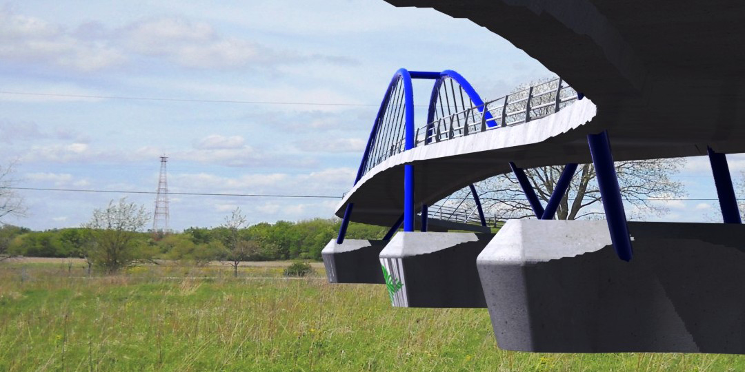 Millennium Trail Pedestrian Bridge Concept Studies | Ciorba Group
