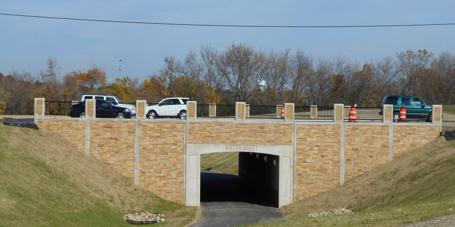 Rollins Road Millennium Trail Underpass | Ciorba Group