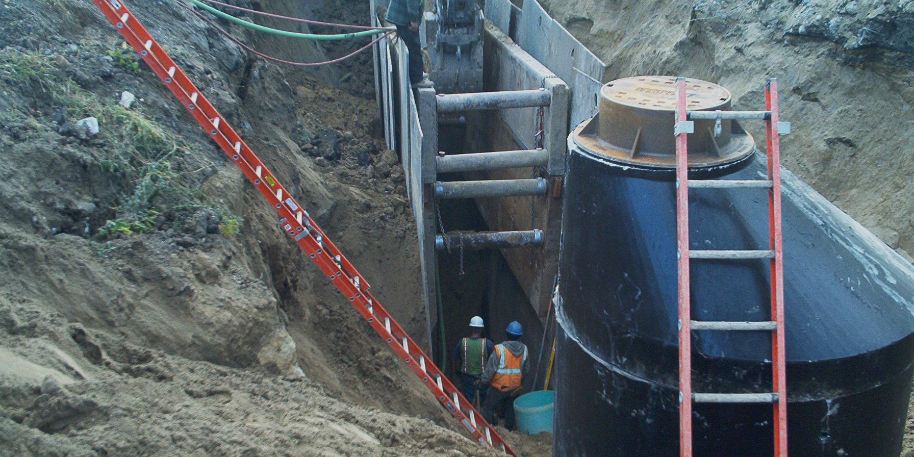 MLK Sanitary Wastewater | Ciorba Group