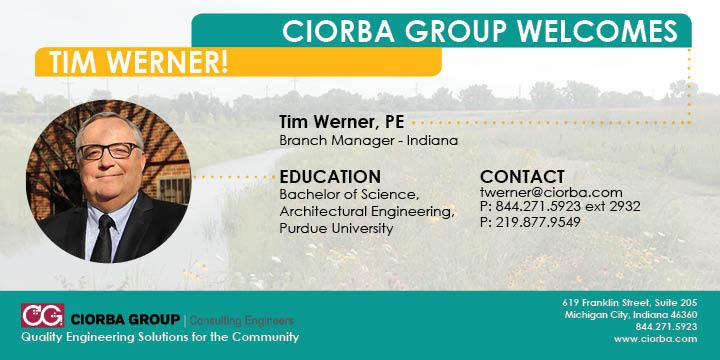 Tim Werner Announcment | Ciorba Group