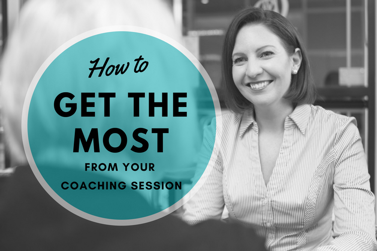 Get the most out of your coaching session