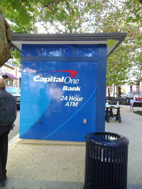 Capital One ATM Wrap – National Harbor