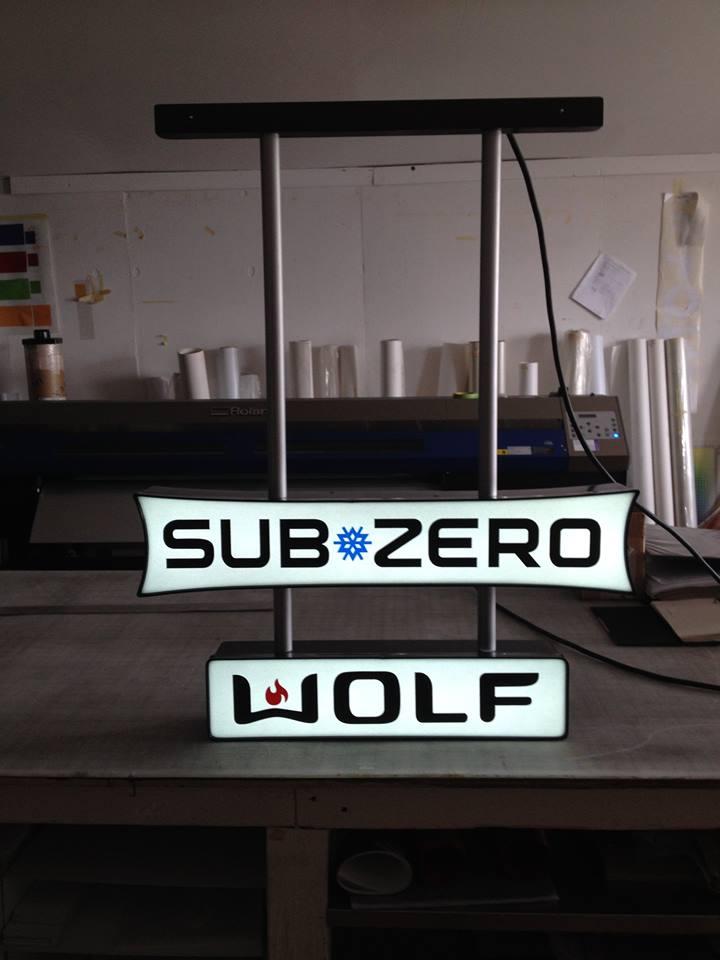 LED Illuminated Sign – Sub Zero