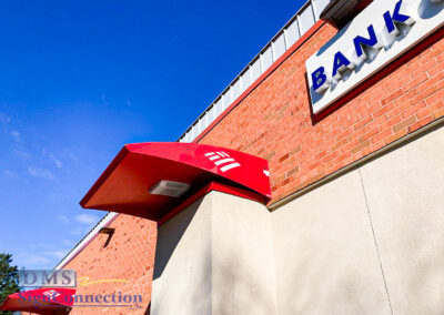 Bank Of America Centre Park Columbia MD Complete Rebranding Awning