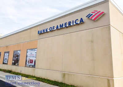 Bank Of America Clarksville ReBranding Channel Letters