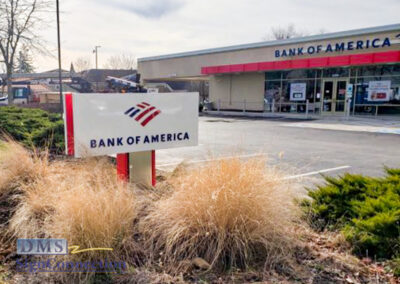 Bank Of America Clarksville ReBranding Monument Sign
