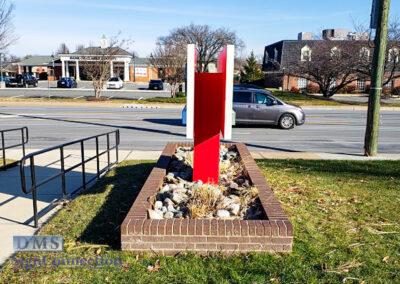 Bank Of America Leesburg East Rebranding Monument Sign