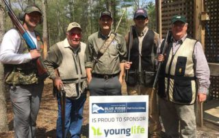 Dr. Boykin and the BRBJ / EO team participated in the Young Life Clay Shoot at the Biltmore Sporting Clays Club