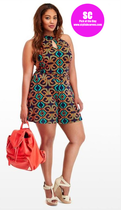 fashion to figure plus size rompers