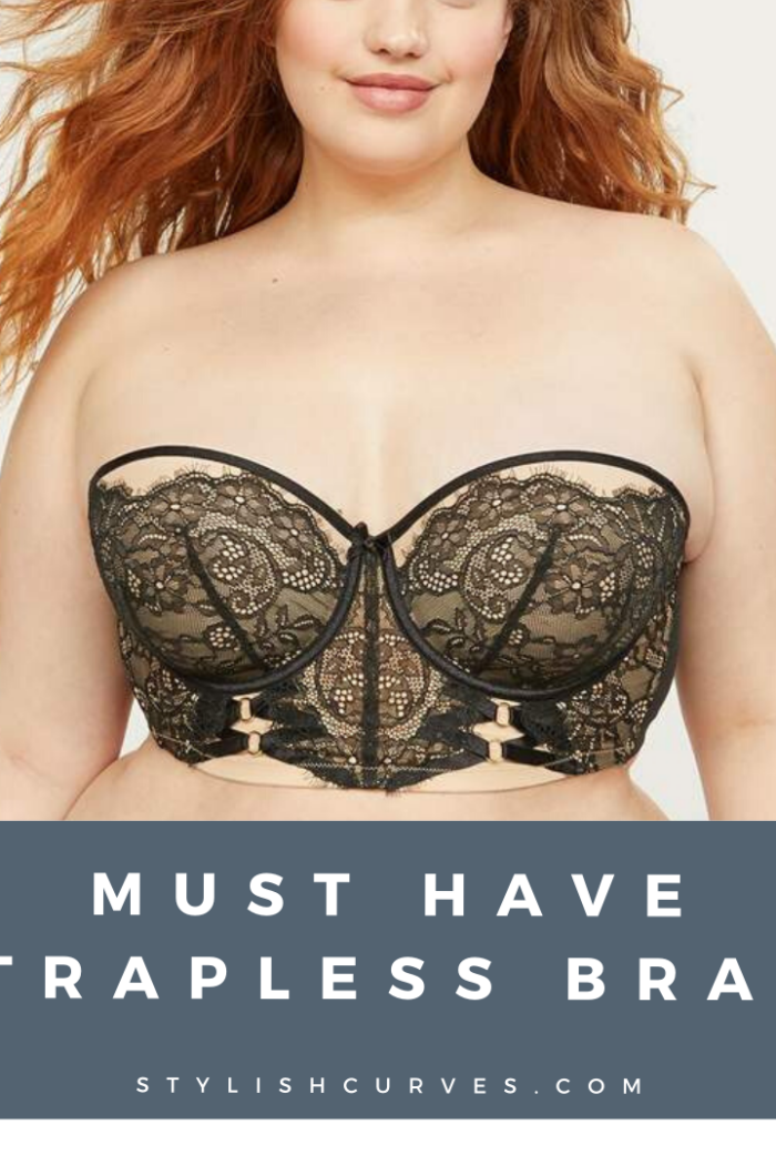 Must Have Strapless Bras For Large Boobs
